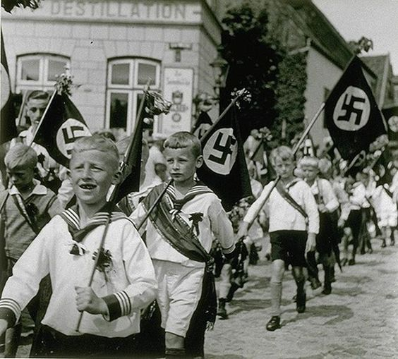Image result for nazi children
