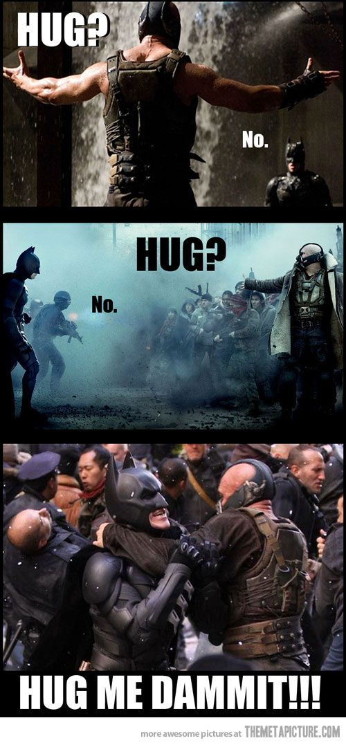 Sorry for the swearing. All he ever wanted was a hug!!!