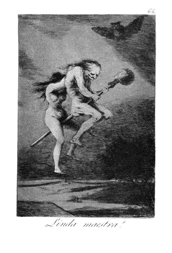 Linda maestra (1799), de Francisco de Goya
