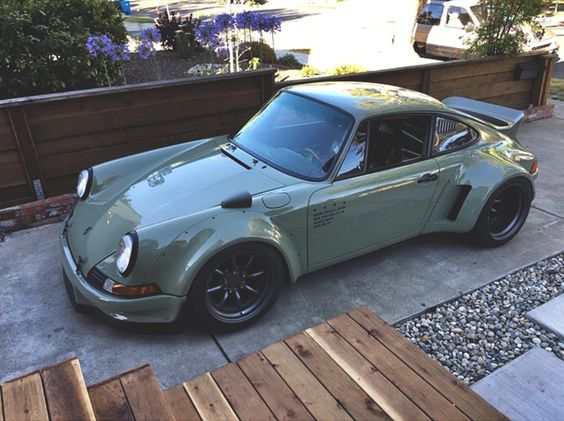Porsche 911 RWB Rudy! I absolutely need this car! I think it's highly appropriate!