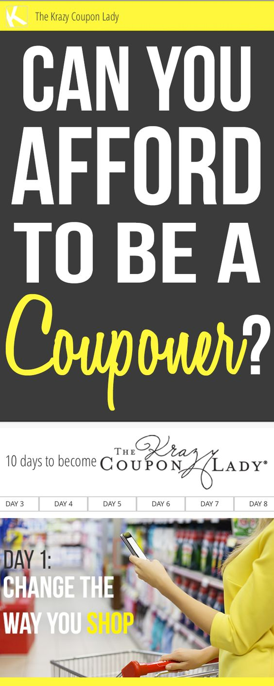 Can You Afford to Be a Couponer?