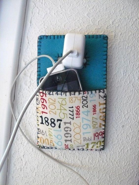 Tuto : Un etui à portable | Au fil d'Emma - Idées patchwork et couture facile