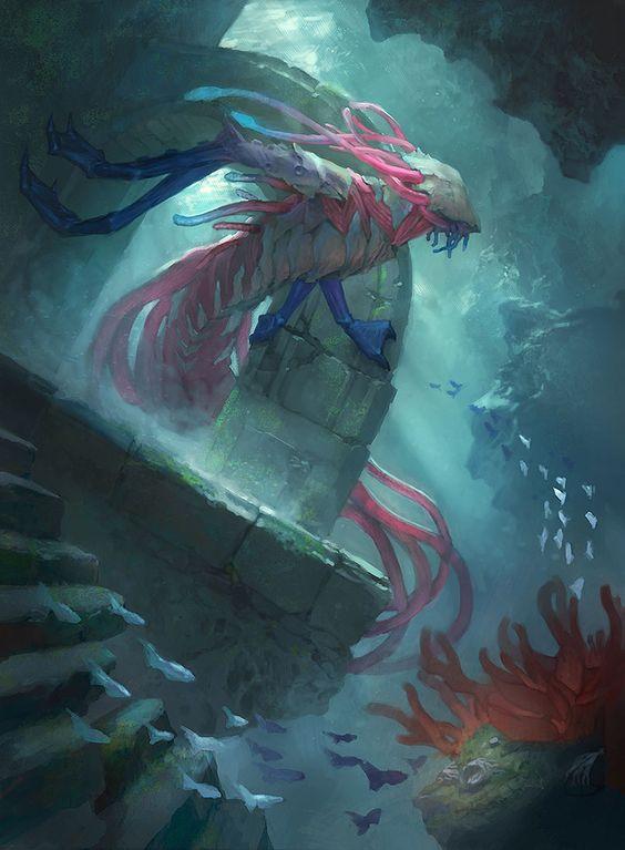 Fathom Feeder - Battle for Zendikar MtG Art | MTG Card Art ...