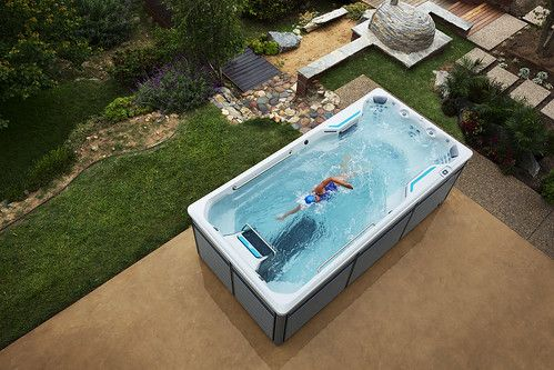 Endless Pools Photos Swimming Pool Pictures In 2020 Endless Pool Swim Spa Swimming Pool Pictures