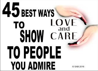 45 BEST WAYS TO TELL SOMEONE YOU LOVE AND CARE FOR
