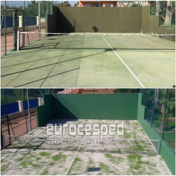Césped artificial padel 13 mm