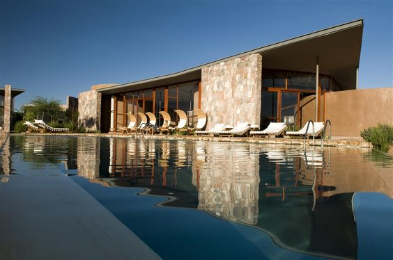 Tierra Atacama Hotel, Chile / A member of Journey Latin America's water-conversation project, the resort uses energy-saving solar panels and takes measures to ensure that its guests excursions have minimal impact on the environment.