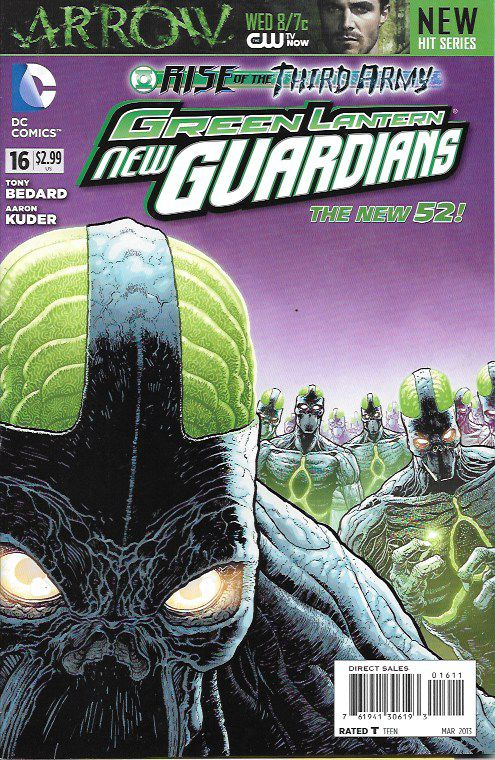 Green Lantern: New Guardians # 16 DC Comics The New 52!
