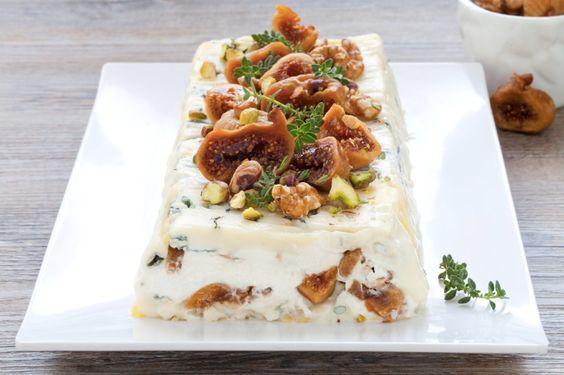 Terrina di gorgonzola e fichi secchi