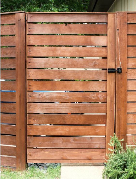 Weekend Projects 5 Ways To Diy A Fence Gate Wood Fence Design
