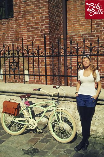 Krakow #cycling in the city #style