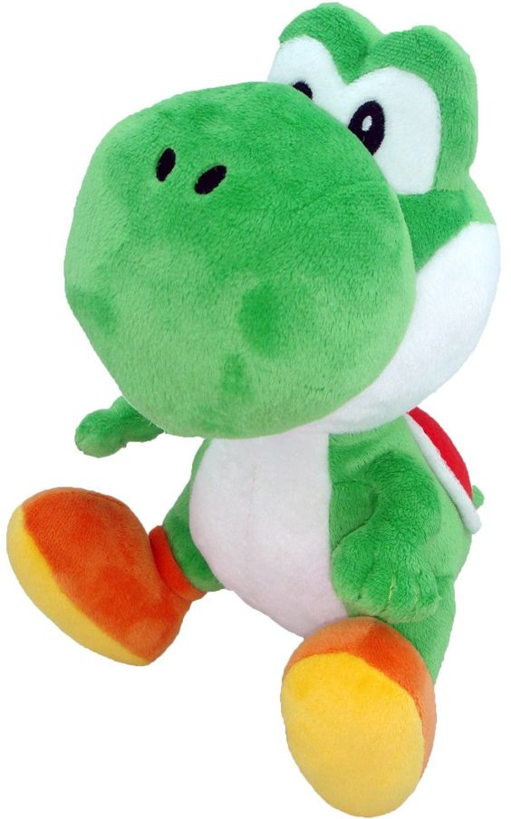 Yoshi (sometimes specified as Green Yoshi) is one of the heroes of the Mario series, an ally of Mario and Luigi, as well as having his own hit series. - Fun for kids 7 and up. - Officially Licensed Su