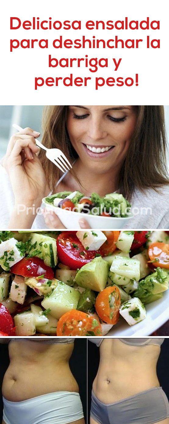 Que ensaladas comer para bajar de peso