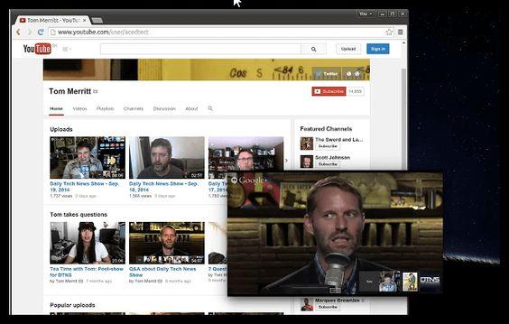 ¿Cómo ver vídeos de #YouTube durante la navegación en #Chrome al estilo YouTube #app para #Android? http://goo.gl/ezmGrz #Floating #Mini #Player #extension https://plus.google.com/+RicardoCamargo/posts/iexY4XwA1iA