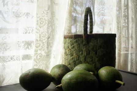 Avocado and kinab'anan basket