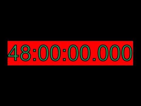 مؤقت 48 ساعة 48 ساعة للعد التنازلي أطول فيديو على Youtube العد التنازلي يوتيوب Youtube Challenges Day Countdown Youtube
