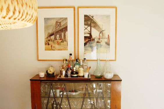 wise craft/upgraded bar cart