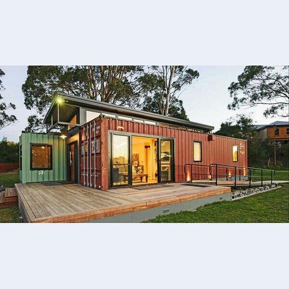 Art studios house ideas and house on pinterest - Container art studio ...