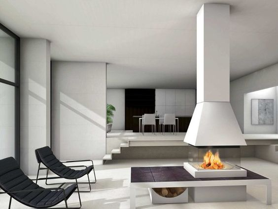 Faïence Fireplace Mantel TALLIN Panoramic Collection by Piazzetta