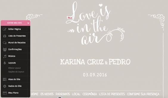 Papo de noiva: Onde hospedar o site dos noivos? » Karina Cruz | Fashion & Lifestyle