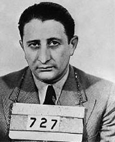 Carlo Gambino was a quiet, but very dangerous man. Allegedly he killed his way to the top of the Gambino family, heading the crime family for 20 years, and The Commission for more than 15 years. Remarkably Gambino spent a total of 22 months in prison for his life of crime.
