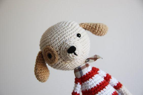 Crochet Animal de Crochetted Toy Toy Amigurumi par daydreamsbymeri