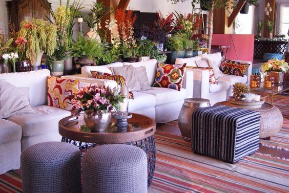 Lounge colorido
