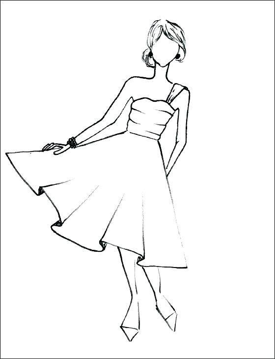Dress Coloring Pages U2013 Dr Schulz Fashion Drawing Dresses Fashion Drawing Sketches Fashion Drawing