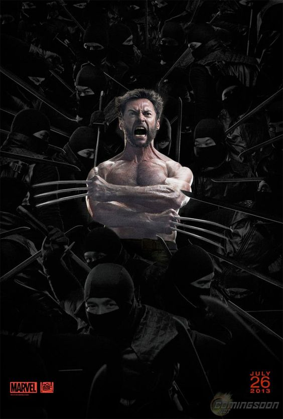 Wolverine 3d poster 2