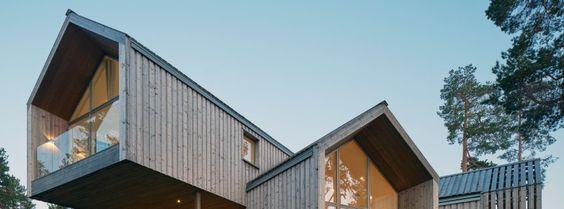 Designervilla in Schweden: Ein Ausblick besser als der andere