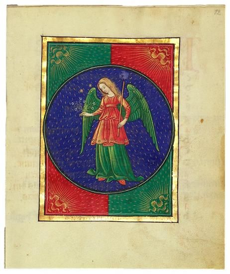 Virgo | MS G.14 (fol. 12r) | The Morgan Library & Museum: