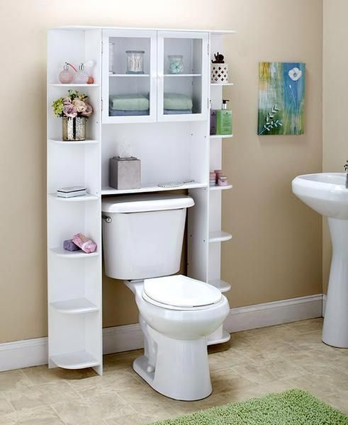 Make The Most Of The Space In Your Bathroom With This Deluxe Over
