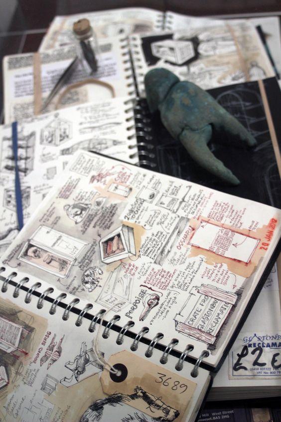 wish i could sketch... Sketchbooks - Duncan Cameron - 2013