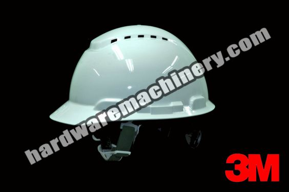 3M H701V HardHat PSB Vented 4Pt-Ratchet. With chin-strap