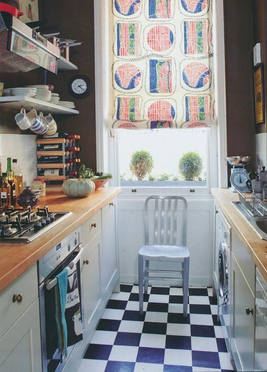 20 Stunning Examples That Show How To Make A Galley Kitchen Work Galley Kitchen Layout Kitchen Layout Kitchen Plans