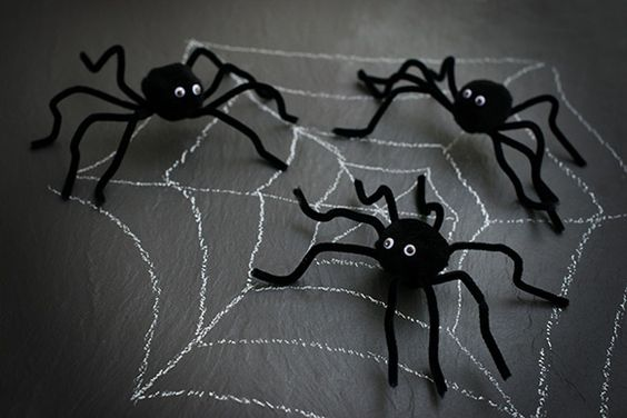 Let's make… spooky Halloween spiders   Kiddicare Blog: Kiddicare Blog, Halloween Spiders, Spiders Kiddicare, Spooky Halloween
