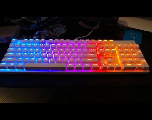 Waterproof Firerose Keyboard Chroma Led Illuminated Keyboard Gaming Cool Computer Best Gaming Tech Pc New Style Design