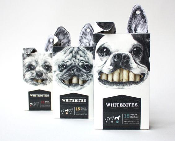 Pra quem ama Cachorro, esta embalagem é mais do que especial. Até porque os Cãesinhos também merecem o melhor do Design... e uns bons petiscos como este dentro da embalagem!  Designed by Cecilia Uhr