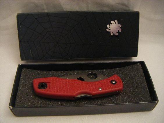 New Spyderco Delica Clip It Trainer Knife AUS-6 C11 TR