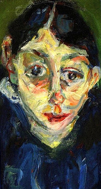 La folle, 1919 Chaim Soutine: