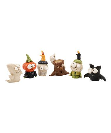 Another great find on #zulily! Halloween Mini Six-Piece Figurine Set #zulilyfinds