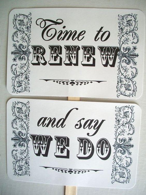 Wedding Renewal Gifts: Vow Renewal.... 4 Years Down