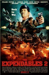 The Expendables 2 : Better than the first part, IMHO. Liam Hemsworth look dashing.The action is great with all the big time action heroes in one place. Van Damme as the villian is superb.