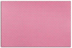 Tissu autocollant rose pois blanc de Dailylike