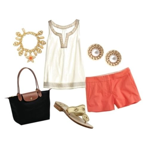 spring fashion outfit- LOVE