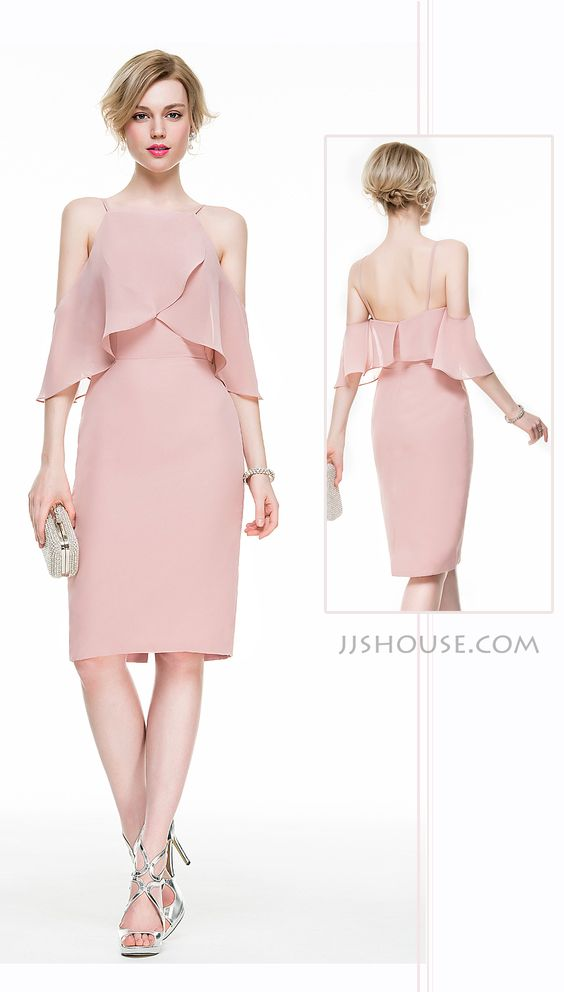 The flowy sleeves and special design of the top endow this dress with girl's sweet and women's sexiness. #JJsHouse: