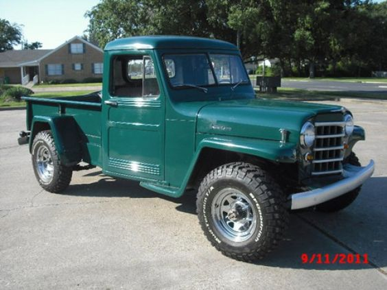 1953 Willys Jeep Truck Photo submitted by Dwight Toland