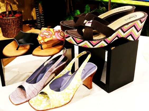 Decoupage your shoes!