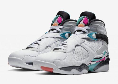 Nike Air Jordan Retro 8 South Beach