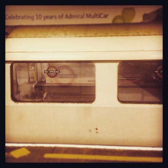 When a random train which very definitely isn't a passenger one rocks up.... #Underground #LondonUnderground #Tube #Tfl #Train #TowerHill #TubeGeek #London by littlemissmee1